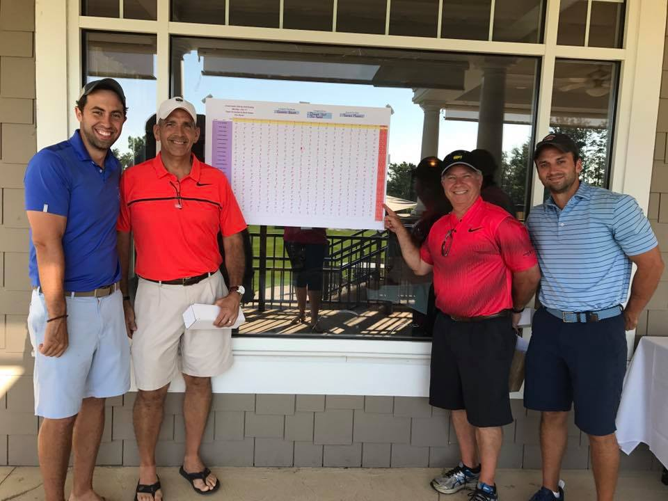 Champions of the 13th Annual Crossroads Golf Outing