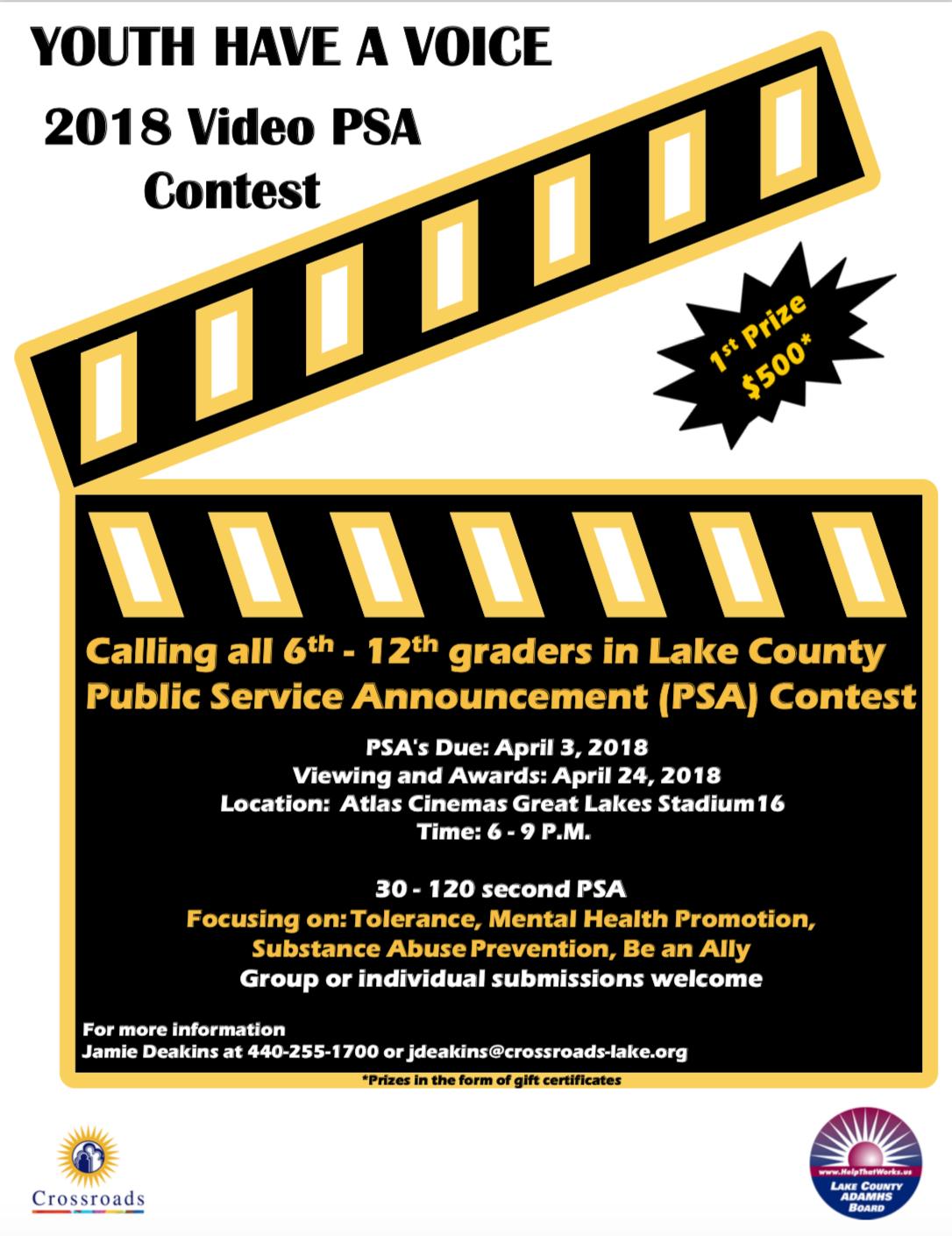 Video PSA Contest