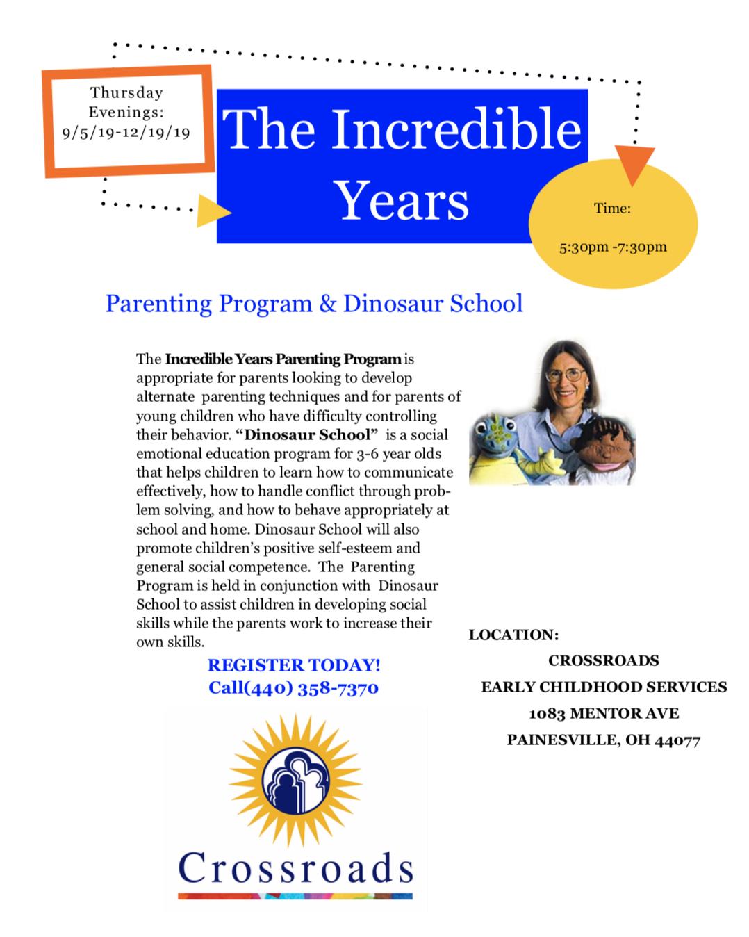 Incredible Years Parenting Program